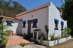 het grote huis in Samouqueira Portugal